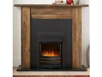 Chiltern Electric Fire & Surround from Next Great Condition 2kw