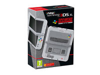 AS NEW,,New Nintendo 3DS XL SNES Edition (3DS)Handheld Console