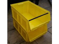 Tough Stackable Storage Crates 90L - VERY STRONG