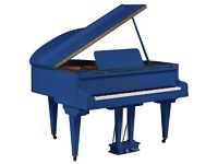 Tesoro Nero - Blue Baby Grand Piano - Summer Sale 20% Off!!!