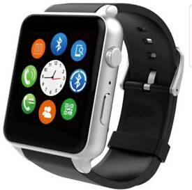 With side camera Bluetooth smart watch for android and iPhone brand new in box