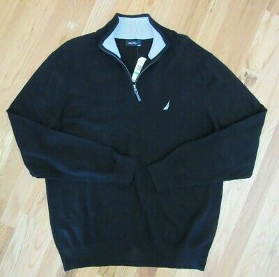 Nautica Sweater Pullover ( L , Black )