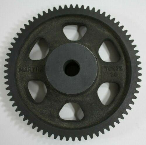 """Martin TC872 Spur Gear, 20° Pressure Angle, Cast Iron, Inch, 8 Pitch, 1"""" Bore 😎"""