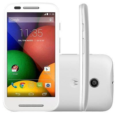 NEW NIB White GSM Unlocked Motorola Moto E XT1021 Android Smartphone Phone 4GB