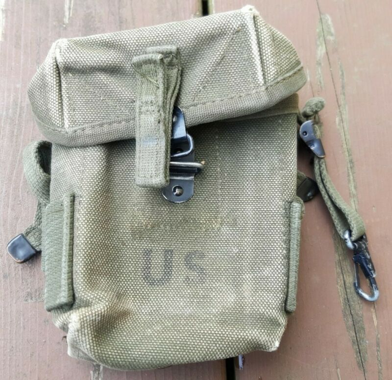Original Vietnam Era US Army Military M1956 Universal Small Arms Ammo Pouch