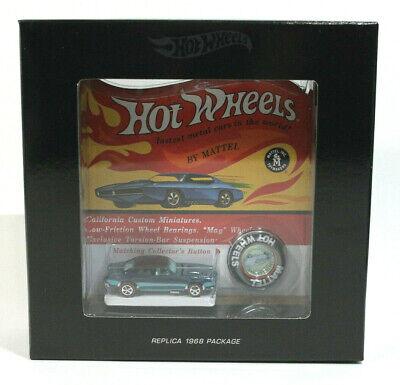 Hot Wheels Custom Camaro Original 16 Replica Black Box (347)