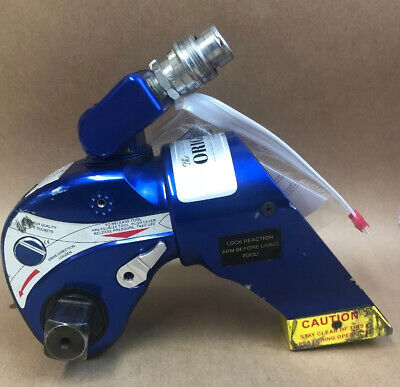 Hytorc Hy-3mxt Hydraulic Torque Wrench 1 Drive Calibrated 22021 Mint 20098