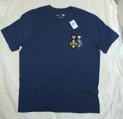 Lion Courage Wizard Of Oz (NWT Coach x Wizard of Oz F38894 Courage Cowardly Lion in Navy T-Shirt Men's)