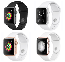 Apple Watch Series 1 42mm Aluminum Case - Space Gray Silver Gold Rose Sport Band