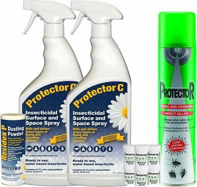 Super Strength Bed Bug Killer and Re-treatment Smoke Fogger Kit for 3 Bedrooms