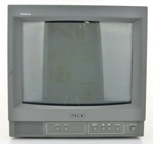 Sony Trinitron PVM-14N5U Video Monitor - Good Working Condition!!
