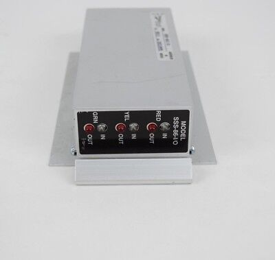 - SSS-86 I/O  Load Switch Traffic Control Street Stop Light Red Green Yellow