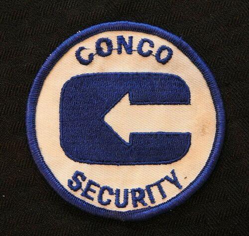 "c.1970 ""CONCO INCORPORATED SECURITY GUARD"" DES PLAINES IL CONCO-TELLUS PATCH"