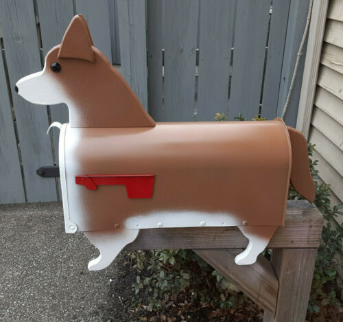 Dog Breed Mailbox - Corgi