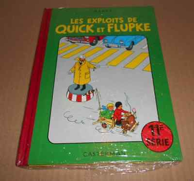 QUICK ET FLUPKE SERIE 11 SOUS CELLO RE Hergé (auteur Tintin & Milou Jo & Zette)