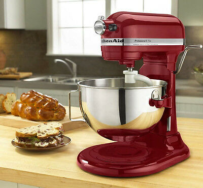 NEW! KitchenAid Professional Mixer 5 Plus 5 Quart Bowl 10 speed Easy Clean