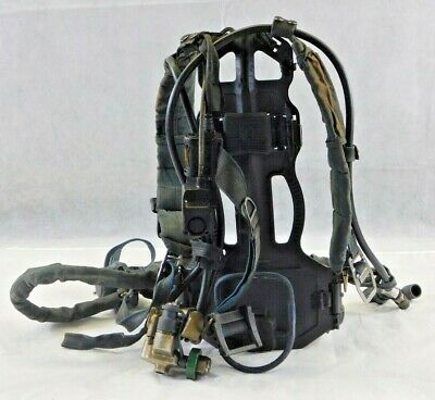 Survivair Panther Scba Harness Regulator Sensors And Frame. No Tank