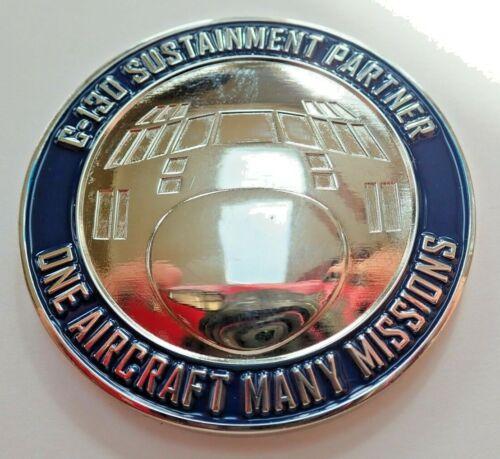 LOCKHEED MARTIN C-130 HERCULES AIRCRAFT SUSTAINMENT PARTNER CHALLENGE COIN -