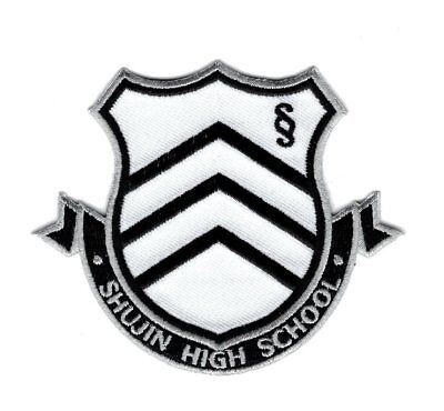 School Iron on Halloween Patch  (Halloween High School)