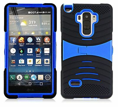 uBLACK/BLUE Phone Case Cover For LG G Stylo / Stylus LS770 / H631