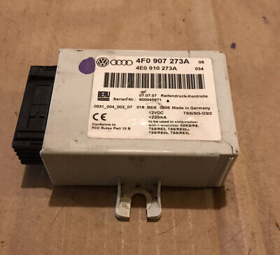 Audi A8 D3 TPMS Tire Pressure Control Module 04 05 06 07 08 09 10