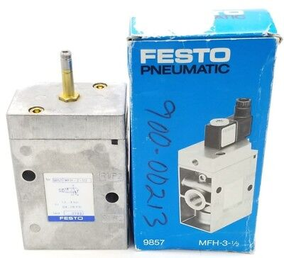 Nib Festo Mfh-3-12 Solenoid Valve 1.5-8bar 22-120psi 9857 Serie 0789