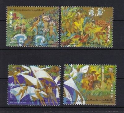 Portugal 2000 postfrisch MiNr. 2426-2429  Entdeckung von Brasilien