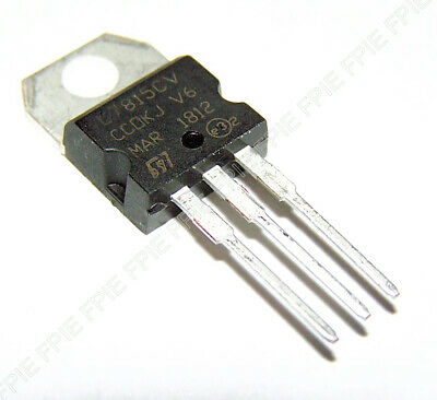 L7815cv Regulator Pos 15v 1.5a Ic Stmicroelectronics