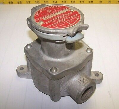 Crouse Hinds 15 Amp 115230 Vac Hazardous Location Arktite Receptacle Cps 14