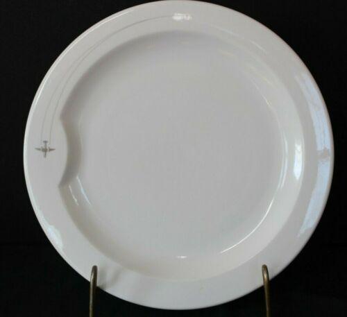 "Virgin Atlantic Plate By Dudson England Porcelain 8.75"" Airplane Dish MCM Design"