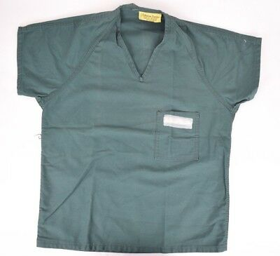 Ohio Uniform -  Ohio State Penitentiary Green Prison Uniform Shirt Inmate Mens
