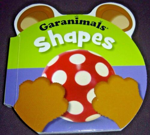 Garanimals Shapes Board Book 9781848795563