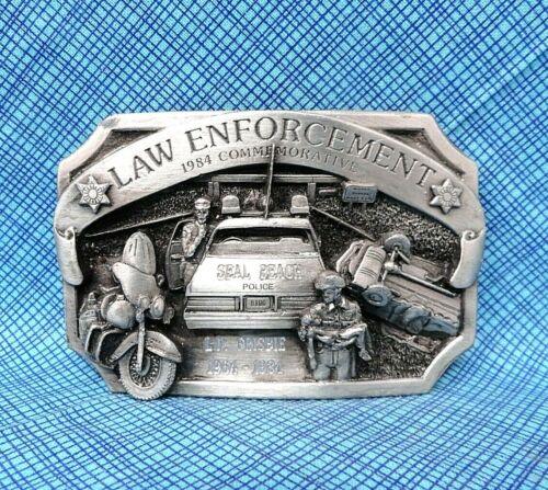 Vintage Law Enforcement Belt Buckle - 1984 L E # 2113/5000 Arroyo Grande..TWY243