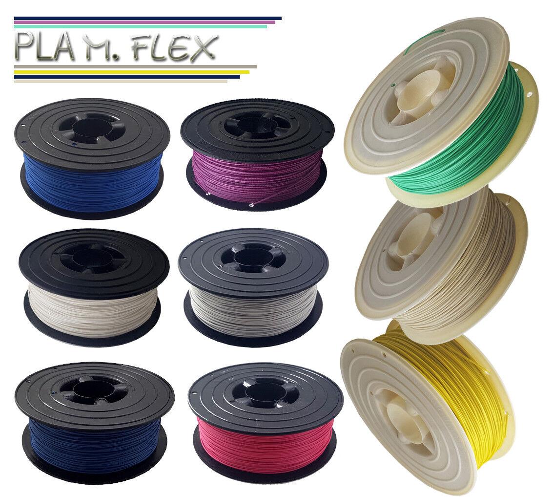 1kg PLA M.Flex Premium 3D Filament Rolle 1,75mm Spule 1000g für alle 3D Drucker