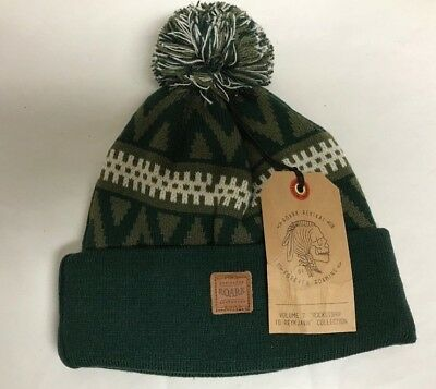 Roark | Rocket ship to Reykjavik | New w/ Tags | Rare Hard to Find Beanie