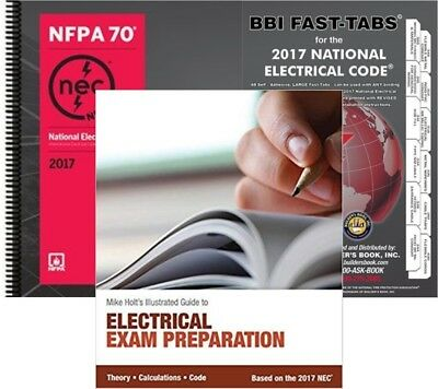 National Electrical Code (Spiralbound), Fast Tabs & Mike Holt's Electrical 2017