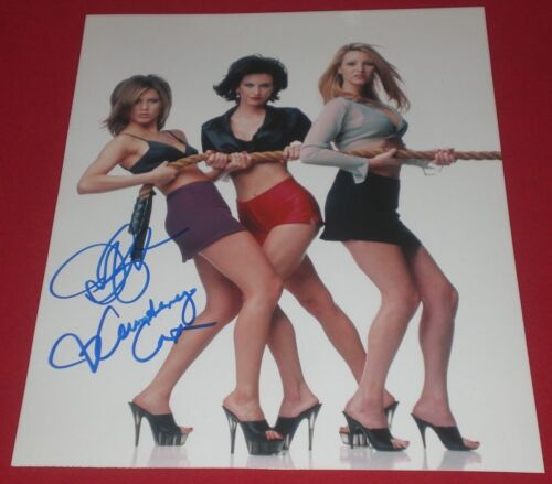 JENNIFER ANISTON & COURTENEY COX SIGNED FRIENDS HOT!! 8X10 PHOTO AUTOGRAPH COA