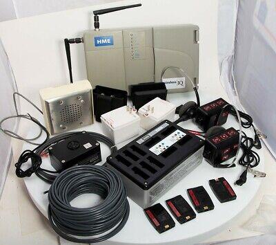 Drive Thru Intercom Hme Base6000 Com6000 Headsets Speaker Mic Battery Charger