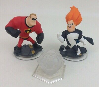 Mr Incredible Syndrome Crystal Disney Infinity Video Game Character Figures Toy