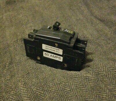 Qou2605265b 024-25298-003 Square D 60 Amp 240v Breaker For Hvac