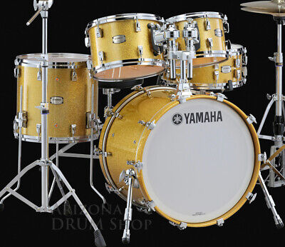 """Yamaha Absolute Hybrid Maple 4pc Drum Shell Set w/20"""" Bass, Gold Champagne , NEW for sale  Scottsdale"""