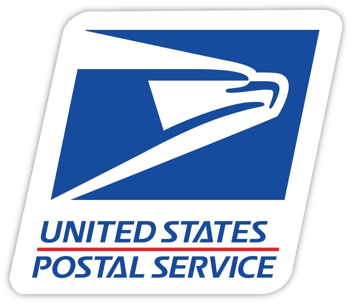 Home Decoration - Us Post Office Mail Carrier USPS Eagle Logo Vinyl Sticker Decal