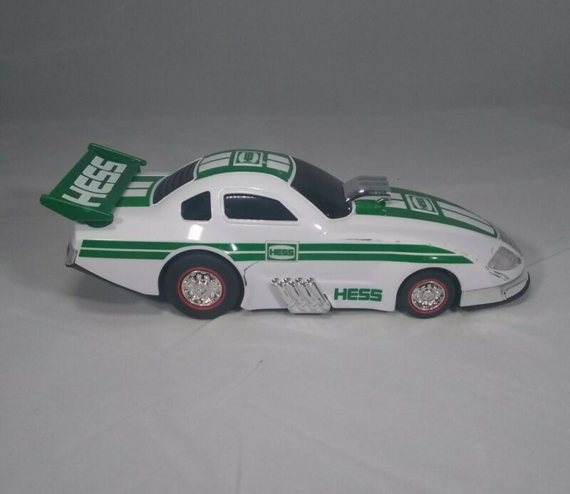 2016 Hess Dragster Pullback Car which Lights Up performs Wheelie when released