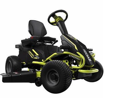 Ryobi 38 in. 100 Ah Battery Electric Rear Engine Riding Lawn Mower RM480ex