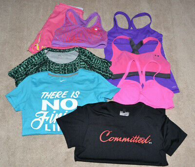 Under Amour/Nike/Victoria Secret S Lot of 8 athletic clothing, size M