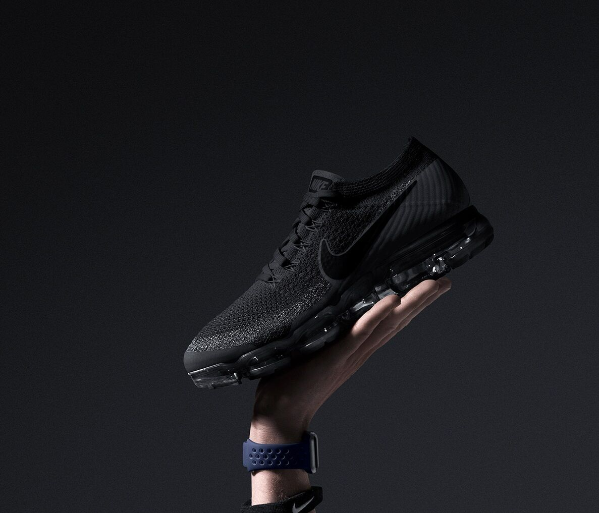 5c22a954a2f NEW Nike Air VaporMax Flyknit Triple Black Anthracite 849558-007 Men s Size  7-14