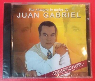 """POR SIEMPRE LO MEJOR DE JUAN GABRIEL (CD, 2000 - BMG - Argentina) """"BRAND NEW"""""""
