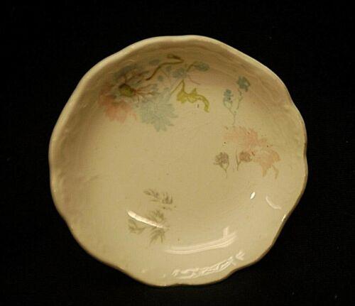 Old Vintage Johnson Bros. Butter Pat Royal Semi Porcelain Floral Pattern England