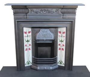 cast iron fireplaces ebay rh ebay co uk