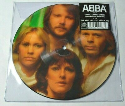 "ABBA - Gimme Gimme Gimme - 40th Anniversary - NEW 7"" PICTURE DISC VINYL (2019)"